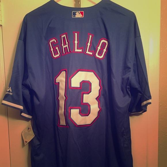 Joey Gallo Blue Texas Rangers Jersey 9e16af28d